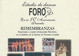 Funcion de Ballet Remembranzas